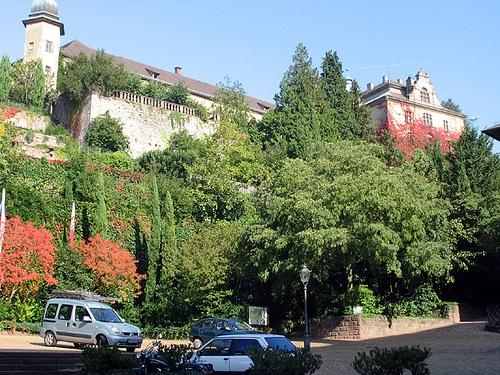 Neues Schloss en Baden Baden