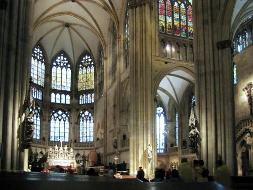 Interior de la Catedral de Ratisbona