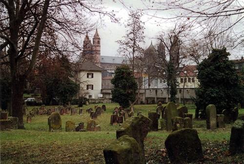 Cementerio judio de Worms