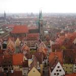La belleza del centro histórico de Núremberg