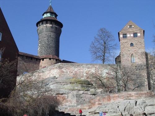 Castillo Kaiserburg en Nuremberg