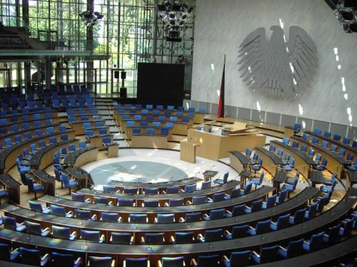 Salon de Plenarias en el Centro de Conferencias de Bonn