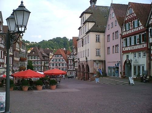 Plazoleta de Mercado en Sindelfingen