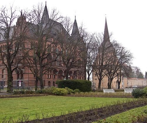 Standehaus en Rostock