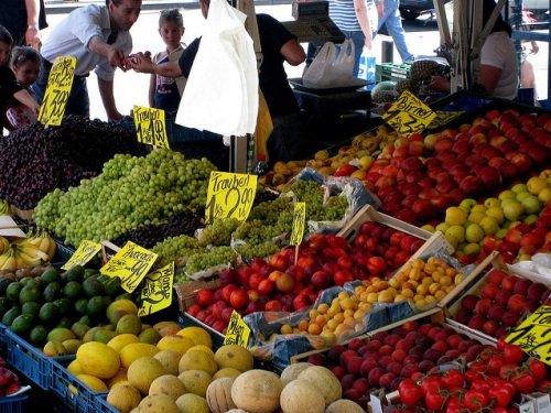 Mercado en Frankfurt