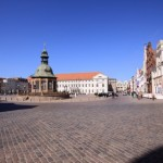 El atractivo centro histórico de Wismar