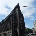 Chilehaus, barco de ladrillo en Hamburgo
