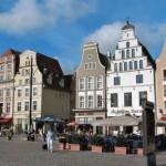 Calles y centros comerciales en Rostock