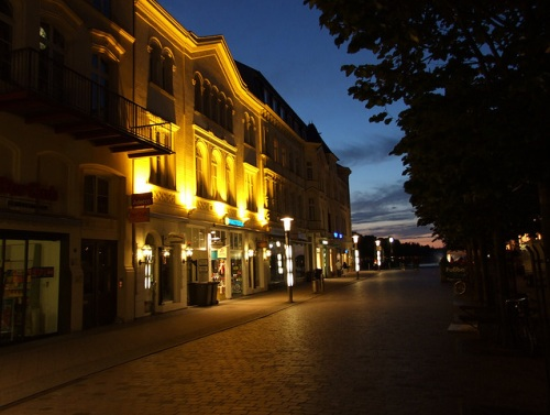 Mecklenburgstrasse en Schwerin