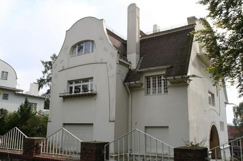 Casa de Gluckert en Darmstradt