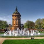Parques, fuentes y naturaleza en Mannheim