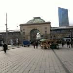 Estación Central y Christuskirche en Mannheim