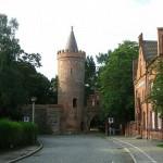 Fangelturm, antigua protectora de Neubrandenburg