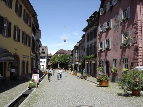 Freiburg Bachle en Friburgo