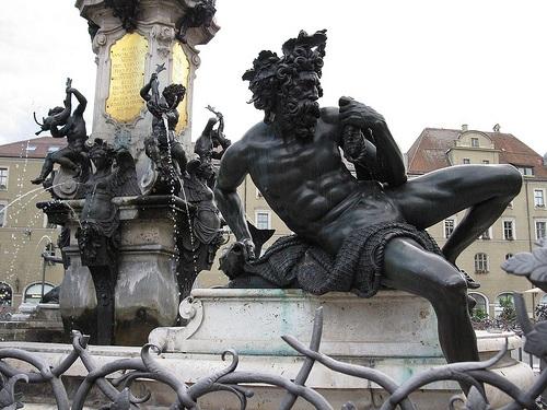 Fuente Augustus en Augsburgo