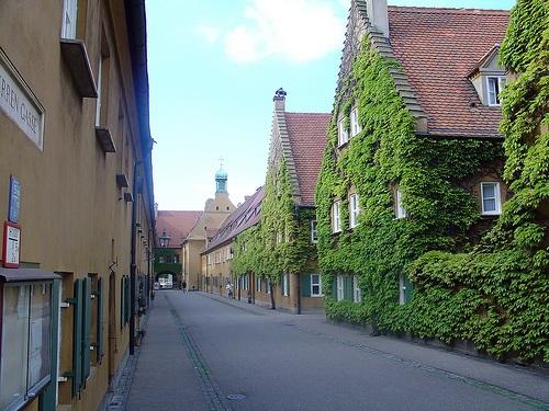 Fuggerei en Augsburgo