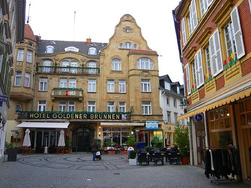Goldgasse en Wiesbaden
