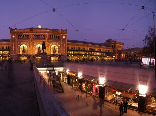 Hanover de noche