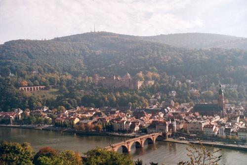 Heidelberg vista desde Heiligenberg
