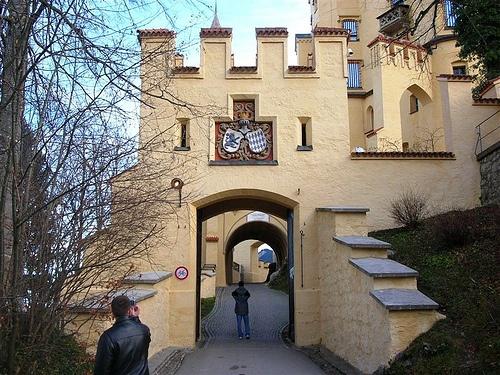 Interior del Castillo de Hohenschwangau
