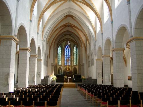 Interior de la Iglesia de San Florian