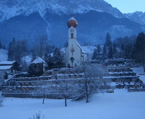 Grainau durante el invierno