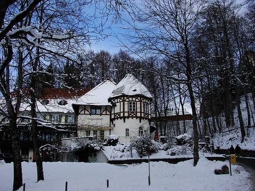 Schwangau durante el invierno