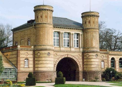 Puerta del Jardin Botanico de Karlsruhe