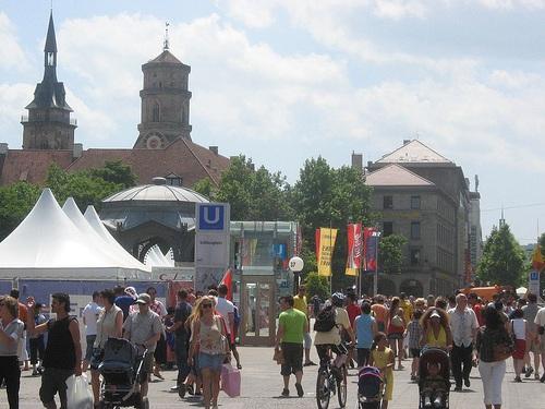 Koenigstrasse en Stuttgart
