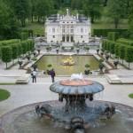 El castillo de Linderhof, en Baviera