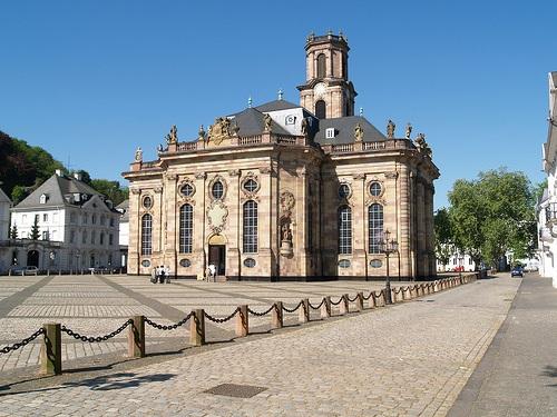 Ludwigskirche en Saarbrucken
