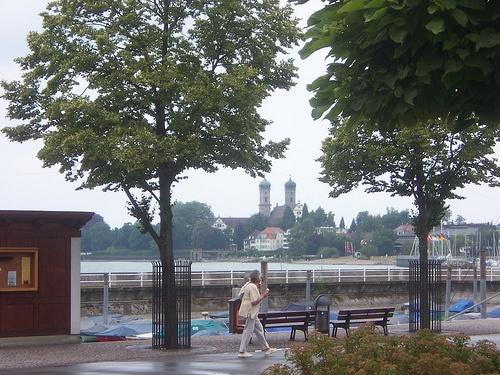 Vista del Palacio Iglesia de Friedrichshafen