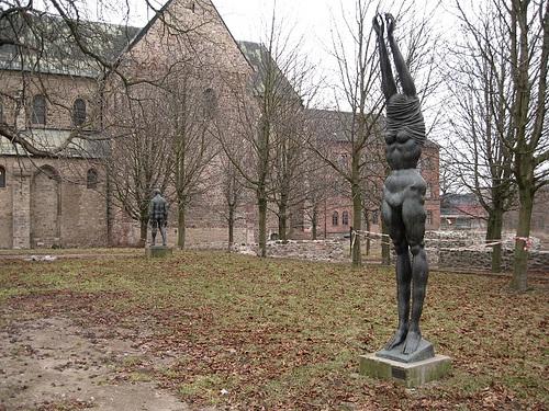 Esculturas en el Museo de Nuestra Señora