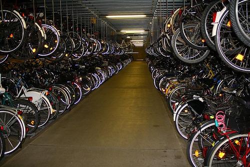 Estacionamiento de bicicletas en Munster
