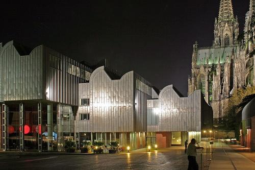Museo Ludwig junto a la Catedral de Colonia