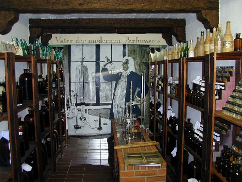 Bovedas en el Museo del Perfume de Colonia