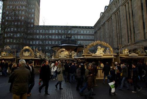 Mercado navideño en Dusseldorf