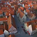 La pintoresca población de Nördlingen