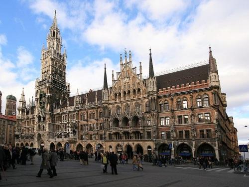 Nuevo Ayuntamiento de Munich
