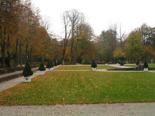 Jardines del Nuevo Palacio de Bayreuth