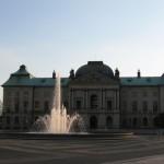Palacio Japonés en medio de Dresde