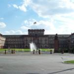 Palacio Mannheim convertido en universidad