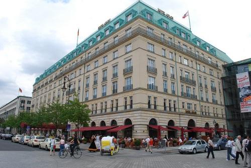 Hotel Adlon en Pariser Platz