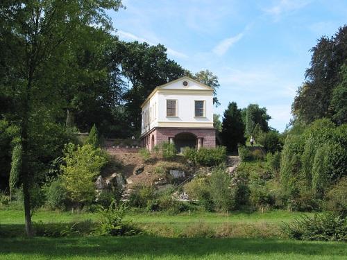 Casa romana el el Parque Ilm