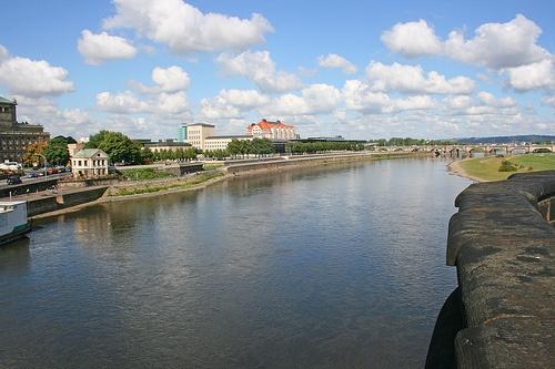 Rio Elba en Dresde