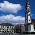 Perlachturm, torre protectora de Augsburgo