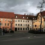Dos plazoletas históricas de Ratisbona
