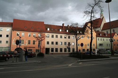 Plazoleta Dachau en Ratisbona