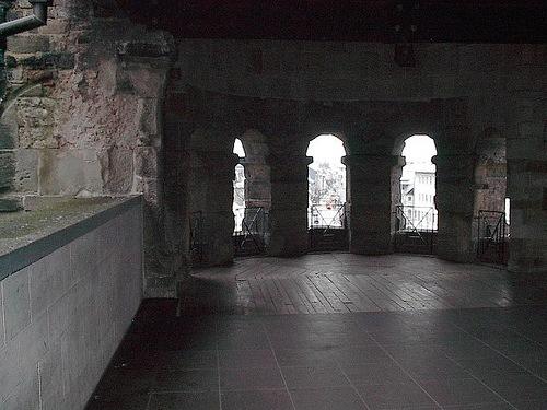Interior de Porta Nigra