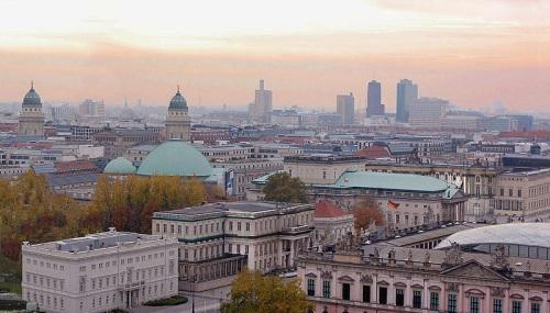 Berlin desde el Berliner Dom